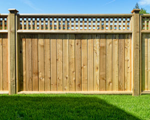 Stockade fences in Riverwoods, Glenview, Northbrook