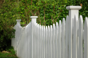 Picket fence design in Glencoe