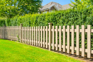 wood fence installation in Northbrook